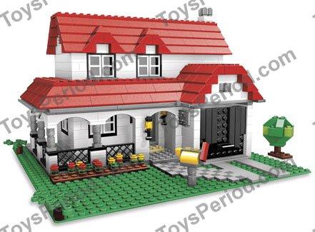 lego house instructions 4956