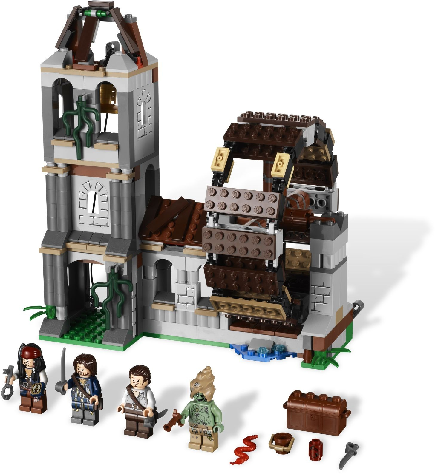 lego pirate sets instructions
