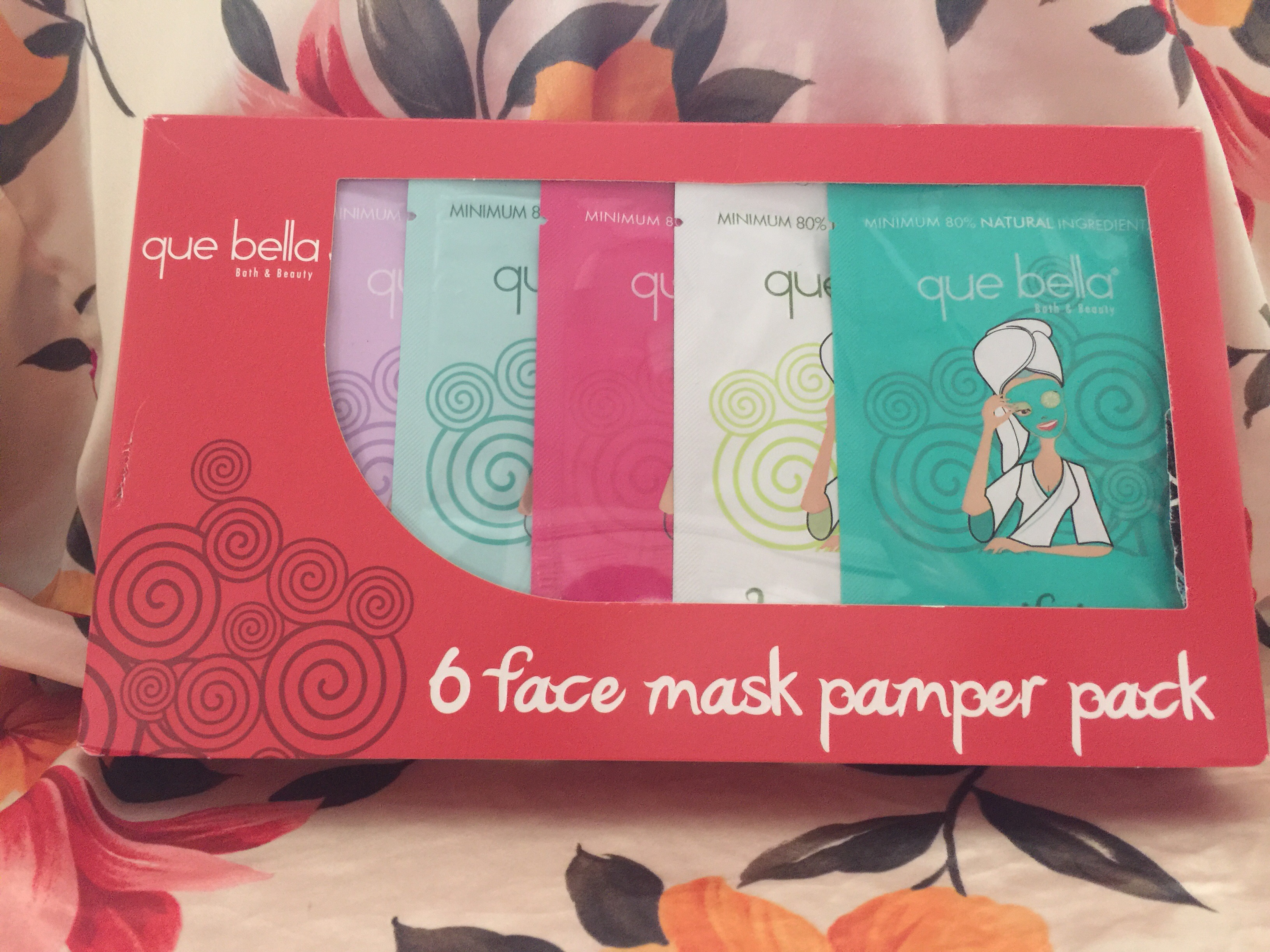 que bella face mask instructions