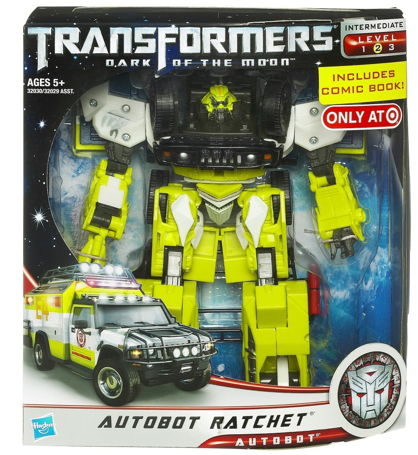 ratchet transformer toy instructions