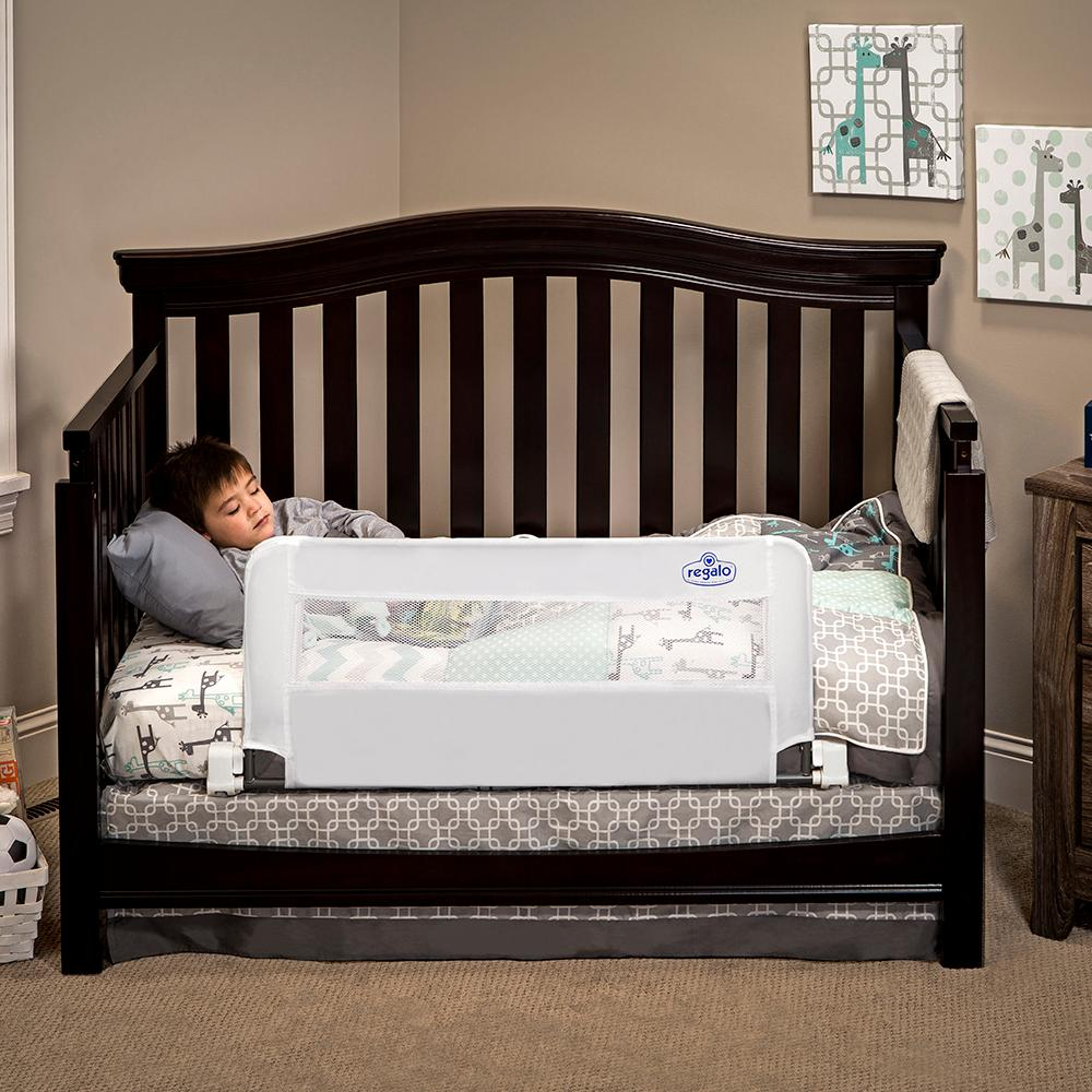 regalo swing down bed rail instructions