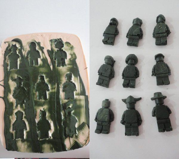 silicone lego mold instruction ebook