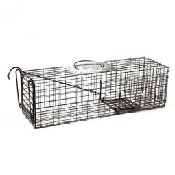 spray proof skunk trap instructions