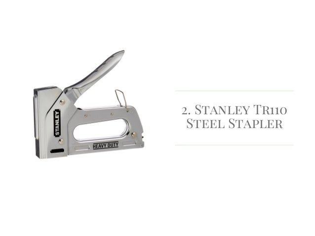 stanley tr110 staple gun instructions