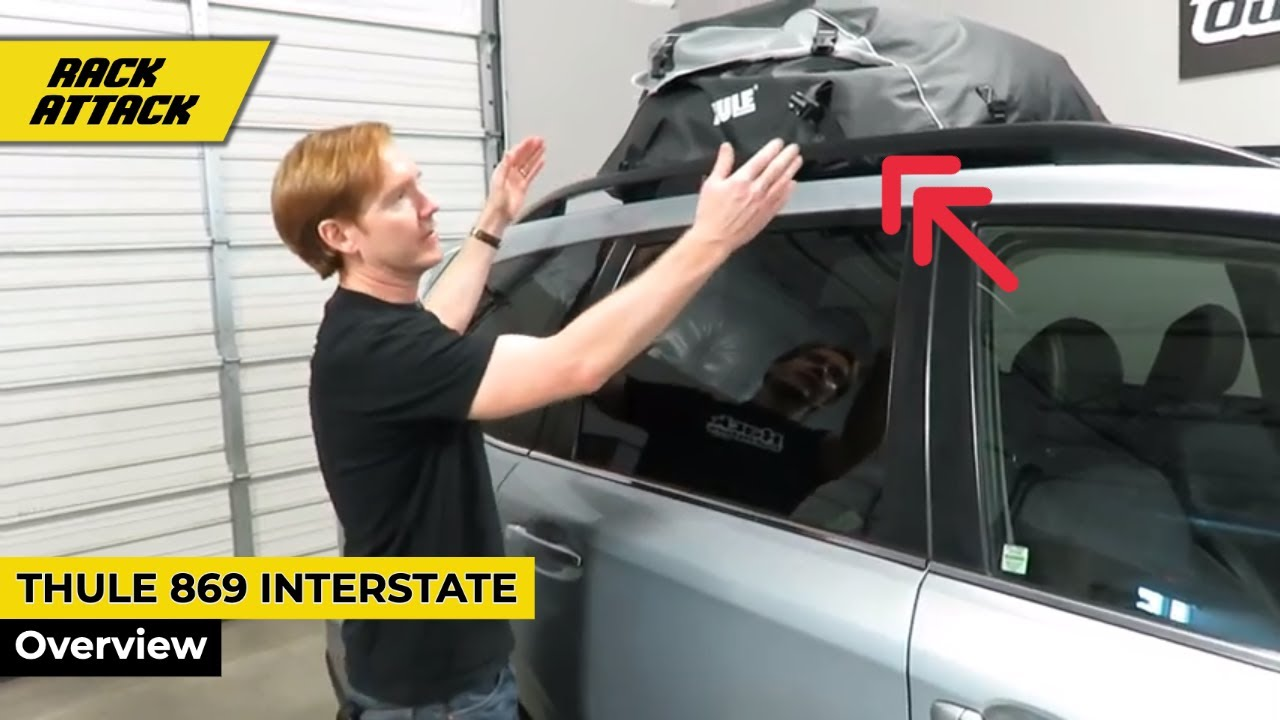 thule quest cargo bag instructions