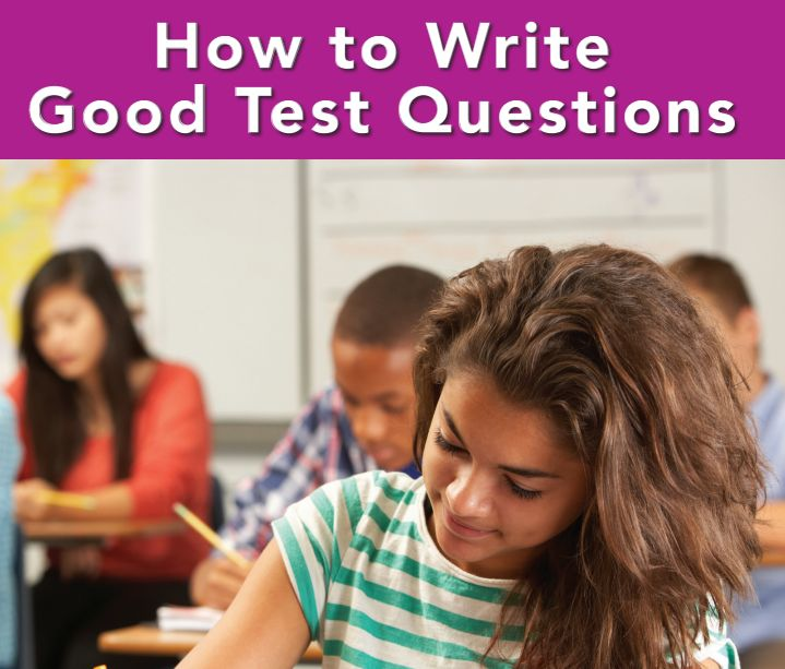 written question assessment tools instructions for students