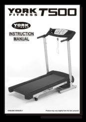 york t500 treadmill instructions